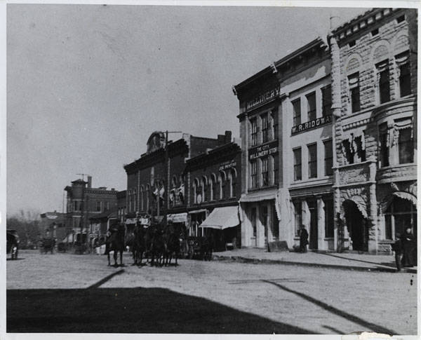The Schiffman Building circa 1898 - Courtesy Of The Huntsville Madison County Library