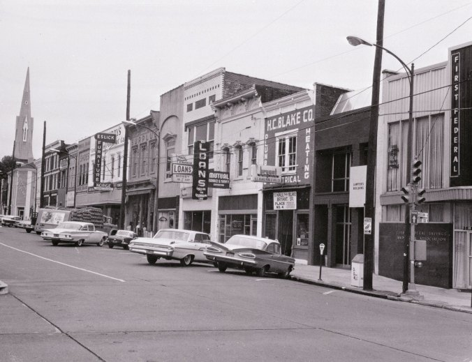 South Side Square circa 1965