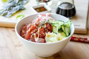 Photo credit: Oshi Poke Bowl & Sushi